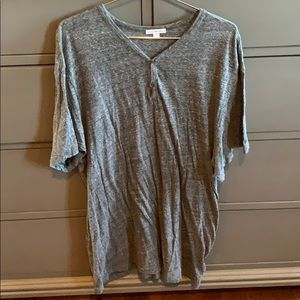James Perse Short-sleeve Henley type shirt